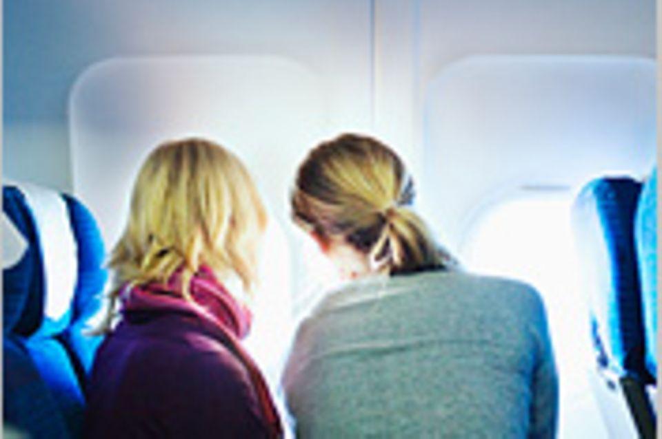 Reisephänomene: Sitzreihen im Flugzeug