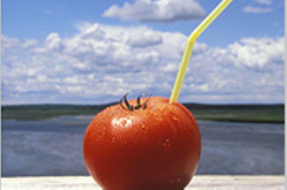 Reisephänomene: Tomatensaft für Flugpassagiere