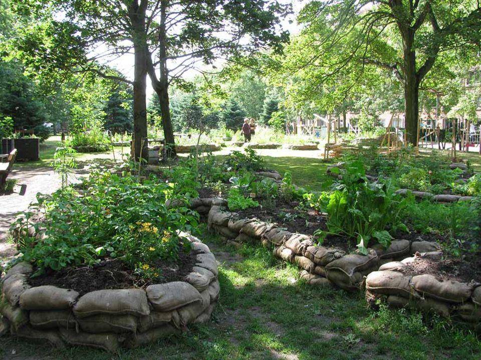Mit dem Urban Garden im Nørrebropark haben sich engagierte Kopenhagener ein Stück Landleben in die Stadt geholt