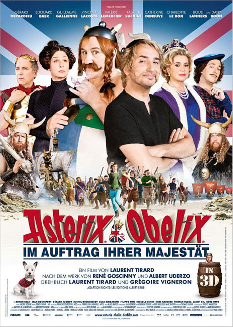 Kinotipp: Asterix und Obelix - Im Auftrag Ihrer Majestät