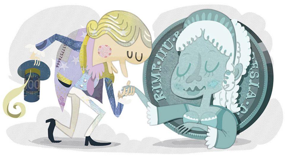 """Kultur: """"Marie""""-Theresia zierte die österreichischen Münzen"""