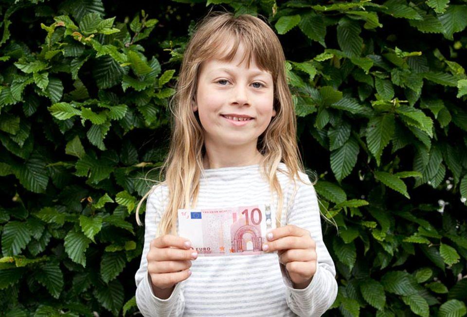 Taschengeld: Die ersten eigenen Euros