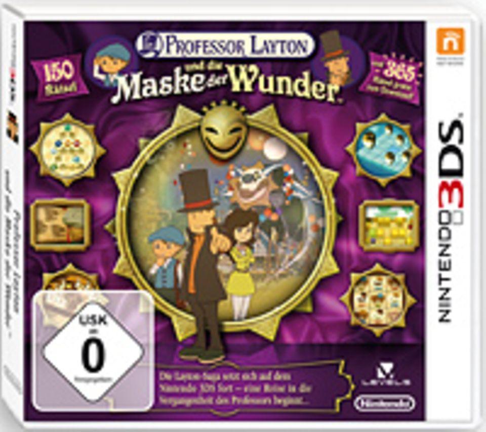 Spieletests: Spieltipp: Layton und die Maske der Wunder