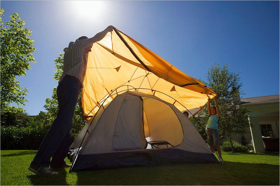 """Von """"Bamping"""" bis """"Glamping"""" offeriert die Plattform Camp in my garden alle Outdoor-Schlafmöglichkeiten"""