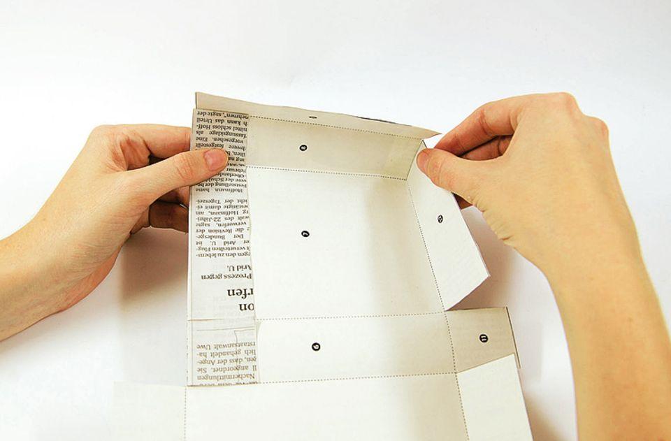 Basteln: Geschenktüte aus Papier
