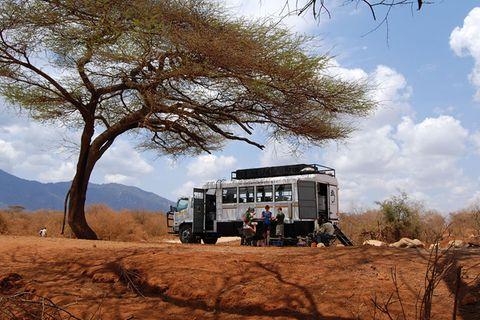 Afrika: Erlebnis Overland Truck