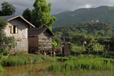 Myanmar, ein Dorf braucht Strom