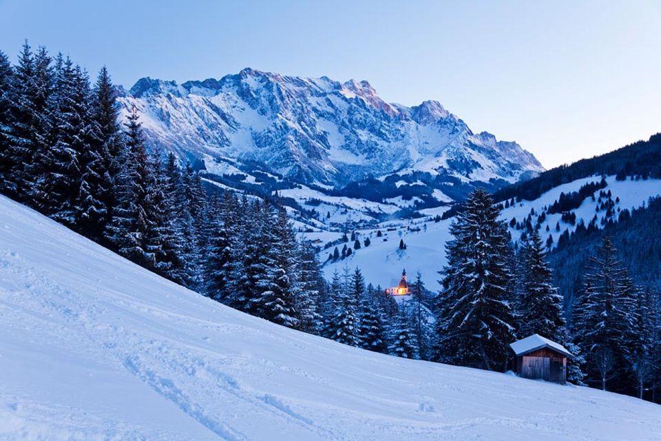 Winterzauber im Salzburger Land