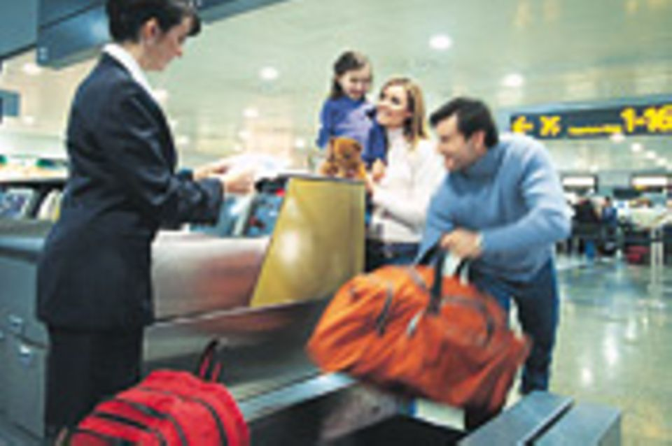 Reisephänomene: Fluggepäck