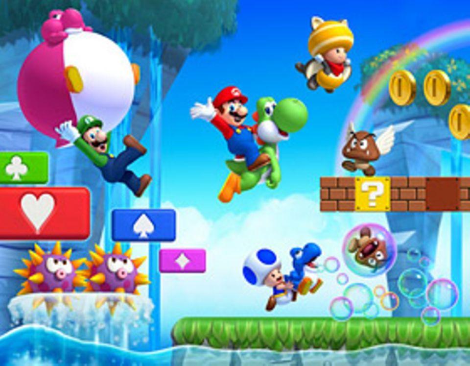 Spieletests: Geht mit Super Mario auf Münzenjagd