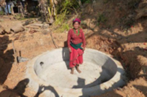 Bildergalerie der Biogasanlagen in Sankosh