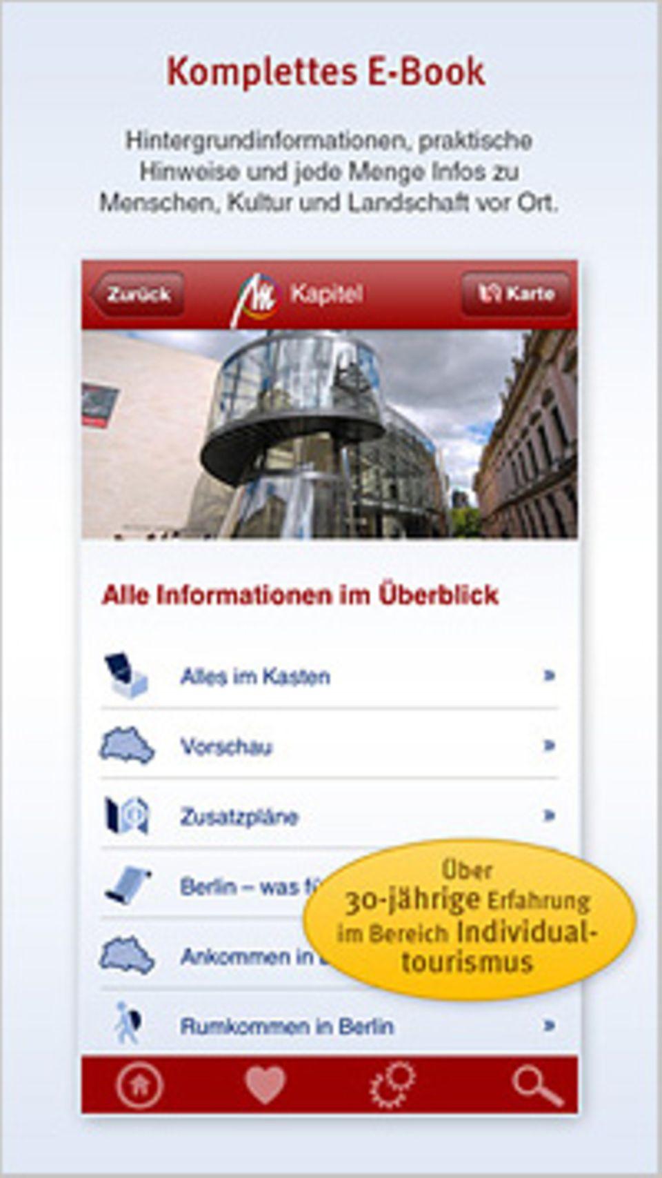 Reiseapp: Kennt alle Wege: Die Wander-App aus dem Michael Müller Verlag