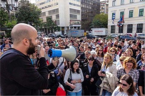 Soziales Engagement: Athen: Sisyphos trifft Herkules