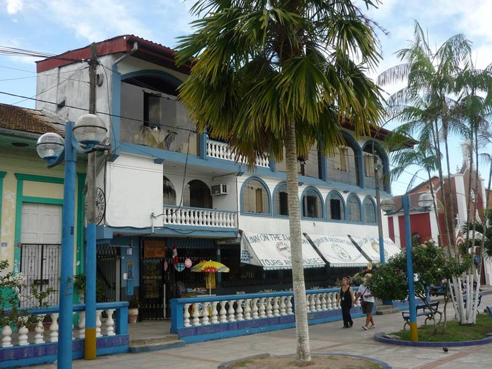 Haus am Malecon - der Uferpromenade in Iquitos
