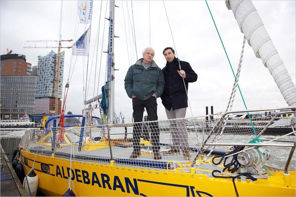 """Umweltschutz: Zu Gast auf der """"Aldebaran"""": Die Regisseure Yann Arthus-Bertrand und Michael Pitiot"""