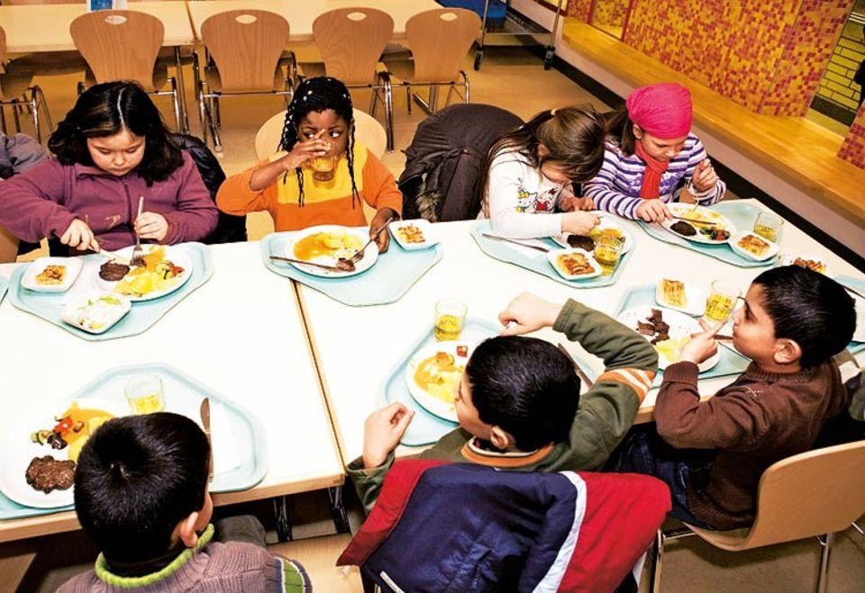 Ernährung: Den Schülern schmeckt es richtig gut!