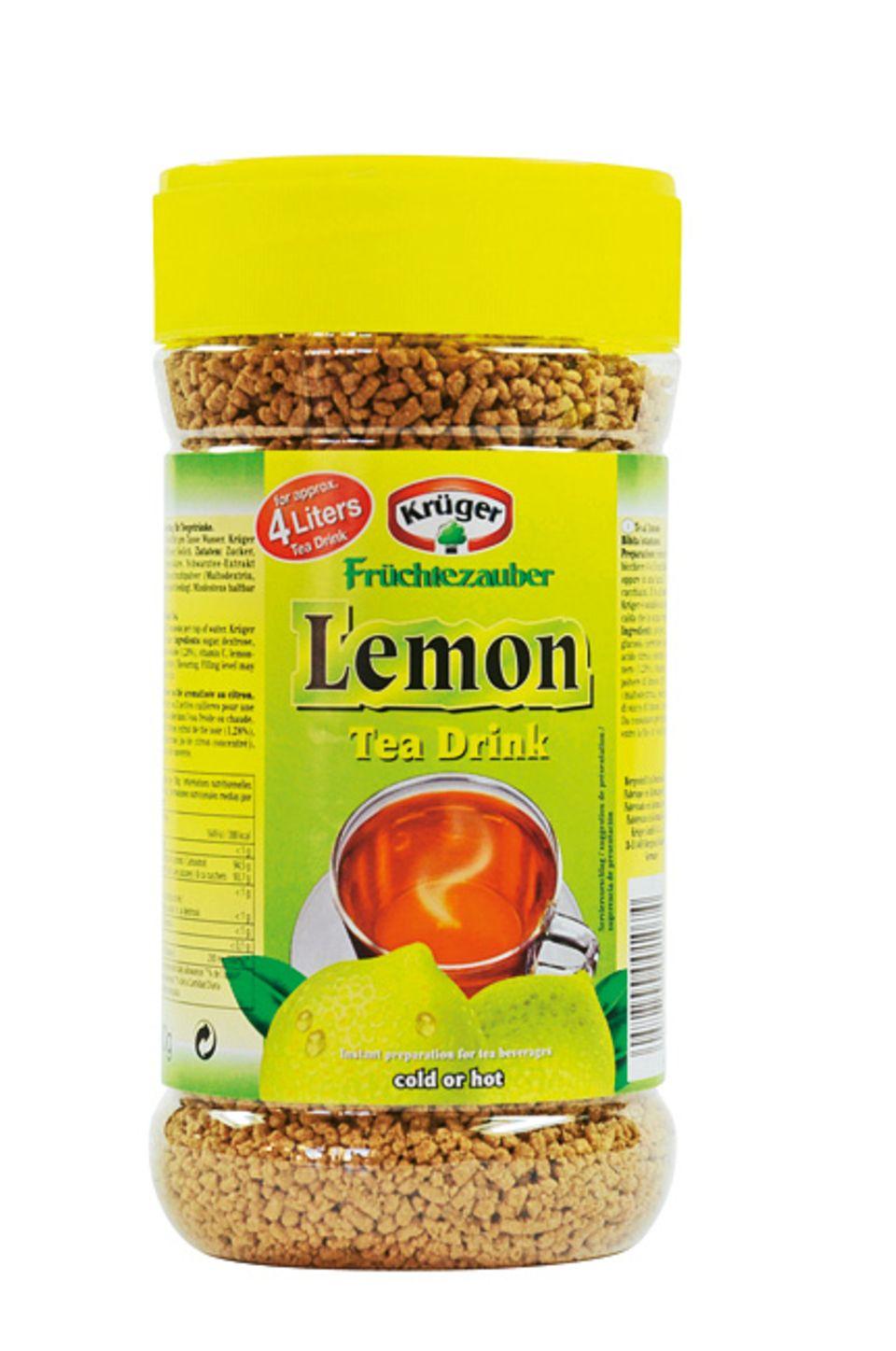 Ernährung: In einer Dose Instant-Tee sind 125 Zuckerwürfel enthalten!