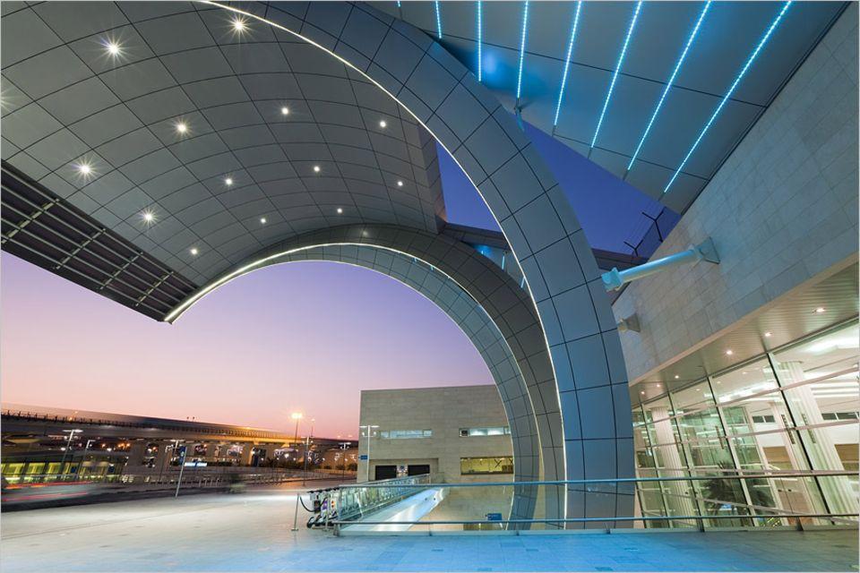 Stopover-Tipps: Der Flughafen in Dubai gibt einen Vorgeschmack auf das, was man in der Stadt alles erleben kann
