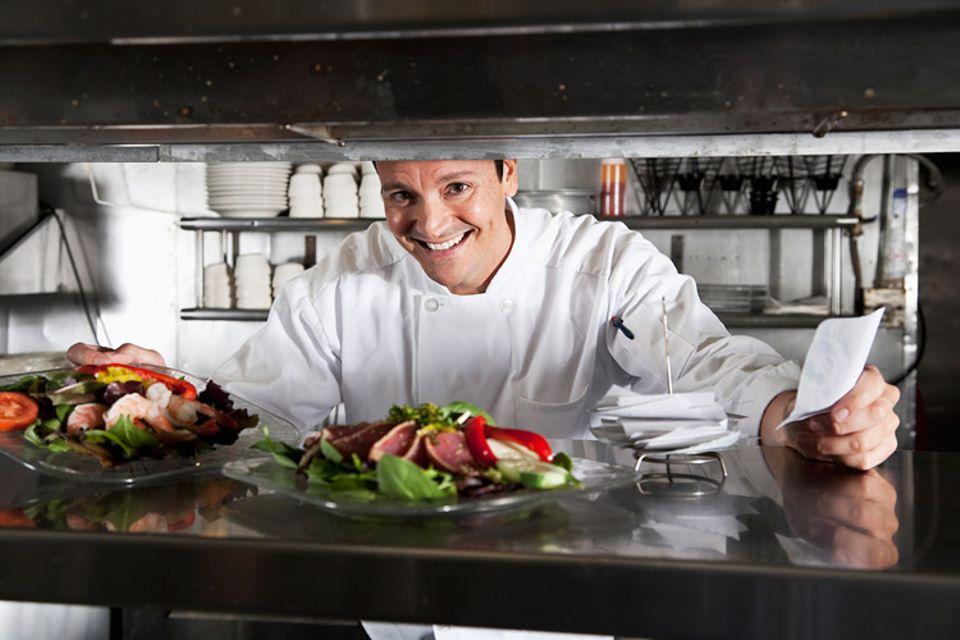 Redewendung: Früher galt ein schlanker Koch als Zeichen für schlechte Küche