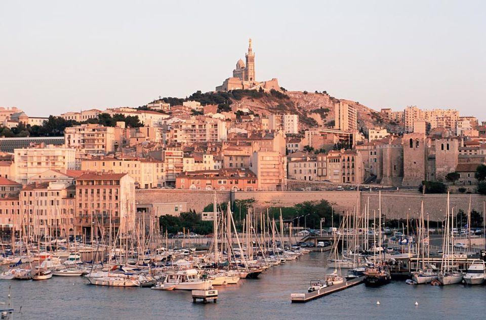 Frankreich: Der Vieux Port ist das Herzstück von Marseille