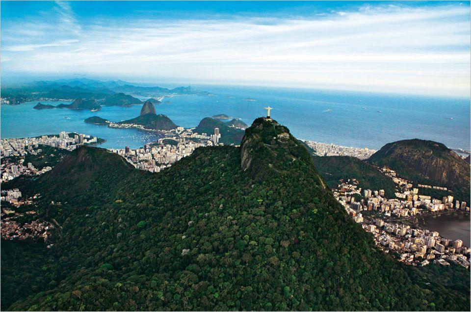 Brasilien: Für diesen Blick allein, lohnt es sich nach Rio zu reisen