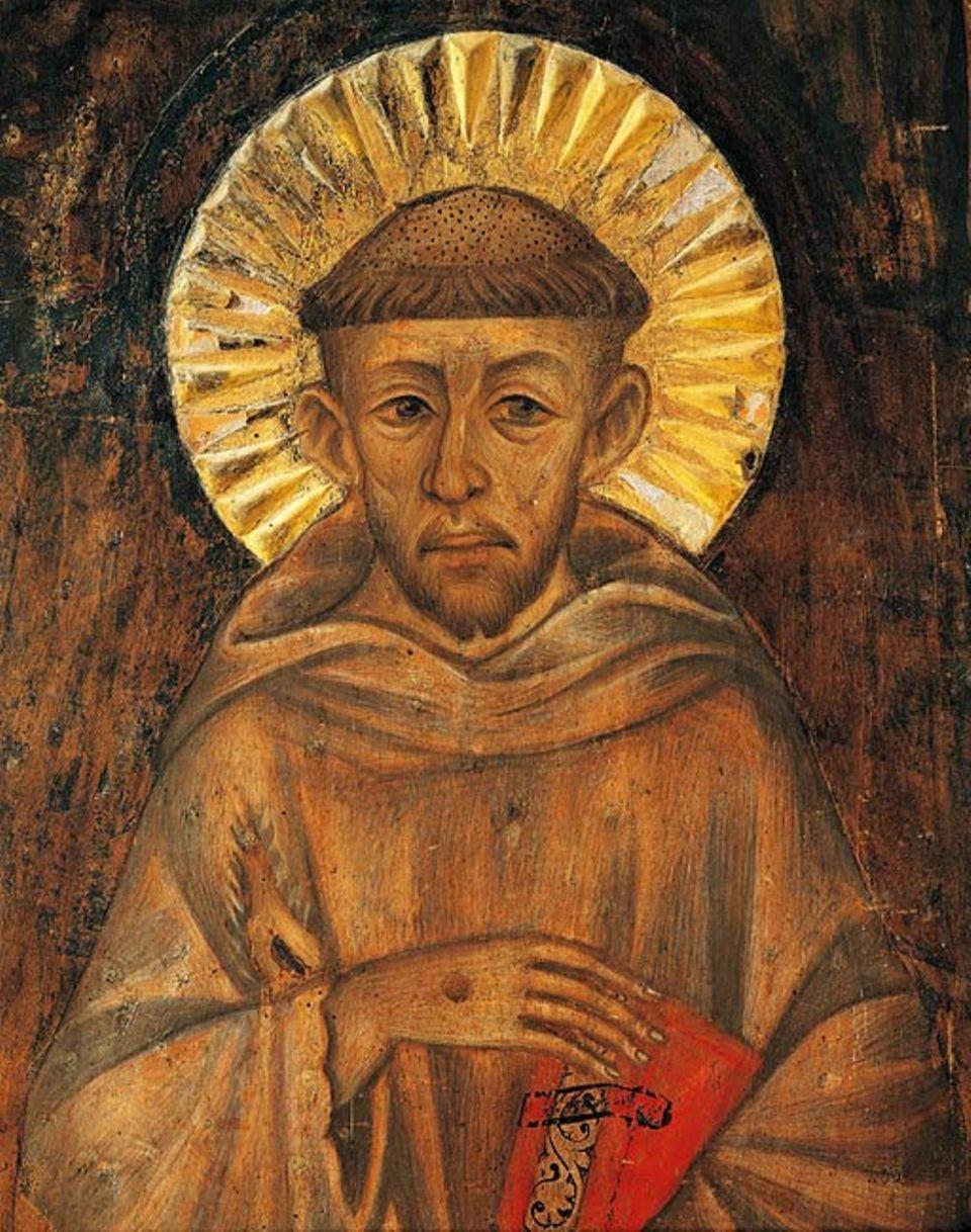 Weltveränderer: Die römisch-katholische Kirche sprach Franz von Assisi im Jahr 1228 zum Heiligen