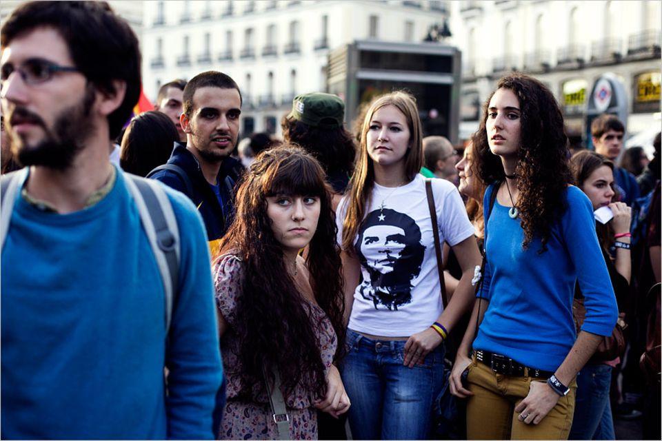 Protestbewegungen: In Madrid und anderswo protestieren Studenten gegen Kürzungen bei den Bildungsetats - bislang kaum mit Erfolg