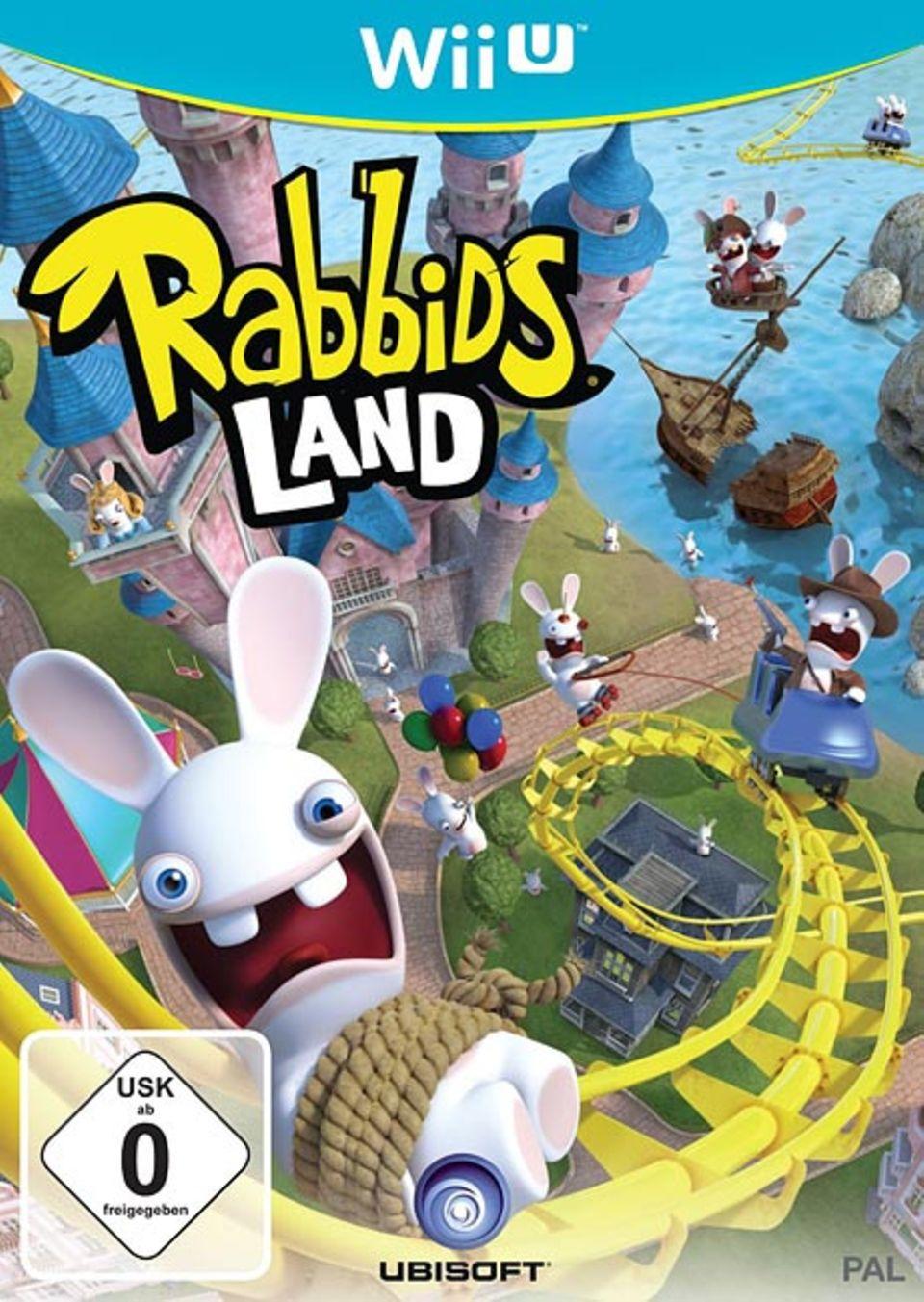 """Spieletests: Vor allem zusammen mit Freunden total lustig: """"Rabbids Land"""""""