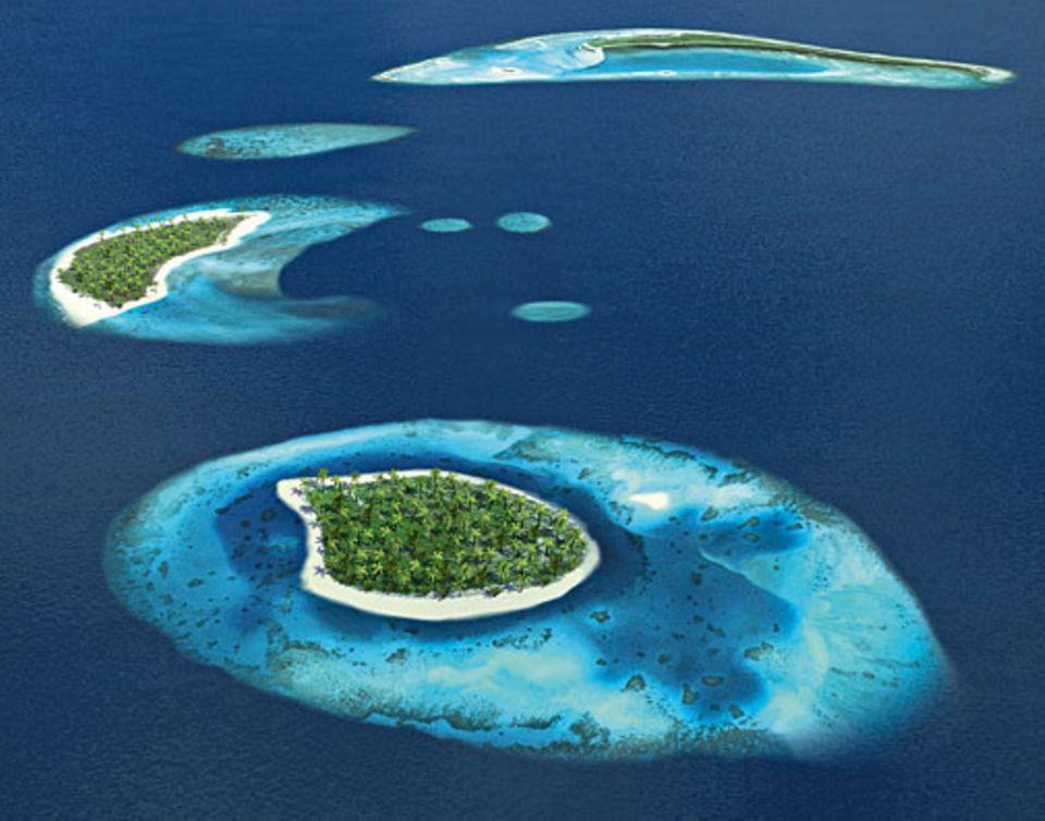 Globale Erwärmung: Die Malediven vor 100 Jahren
