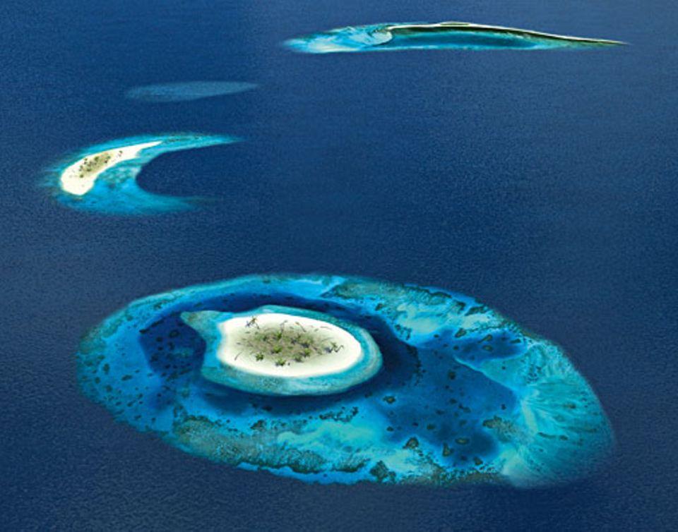 Globale Erwärmung: Die Malediven in 100 Jahren