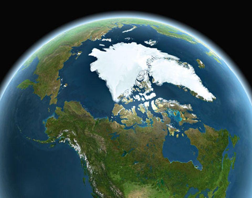 Globale Erwärmung: Die Arktis 2015