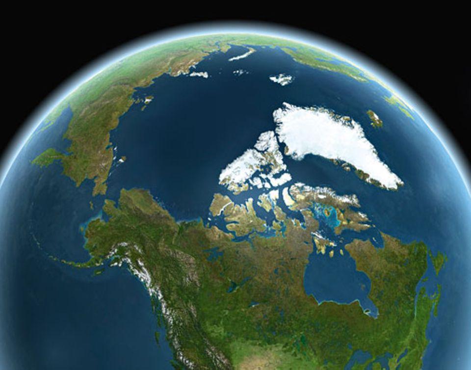 Globale Erwärmung: Die Arktis in 40 Jahren