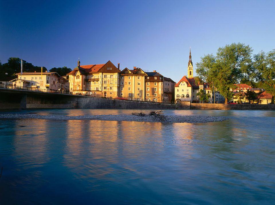 Reisephänomene: Ist ein Kurort wie er im Buche steht: Bad Tölz in Oberbayern