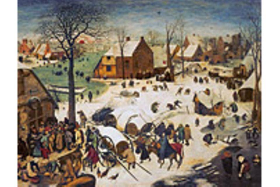 Kunstgeschichte: Pieter Bruegel: Bethlehem im hohen Norden