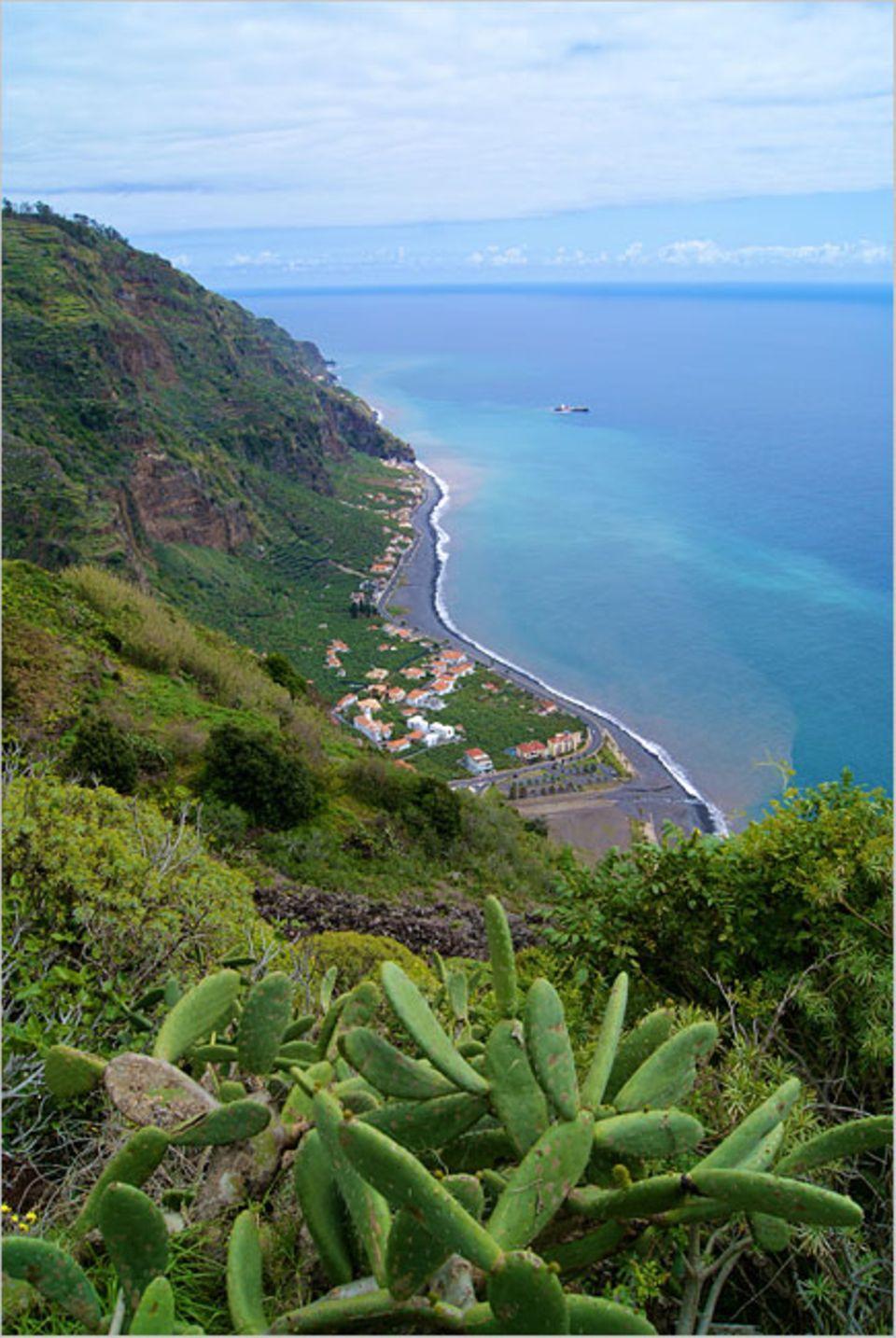 Madeira: Die Südküste Madeiras bietet einige schöne Aussichten