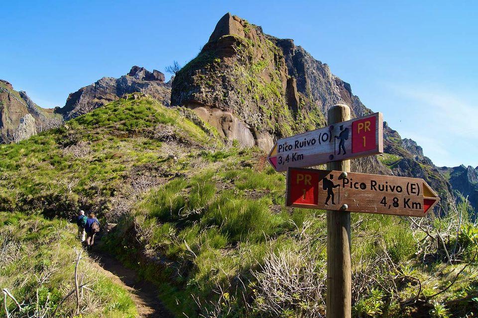 Madeira: Wanderschuhe nicht vergessen!