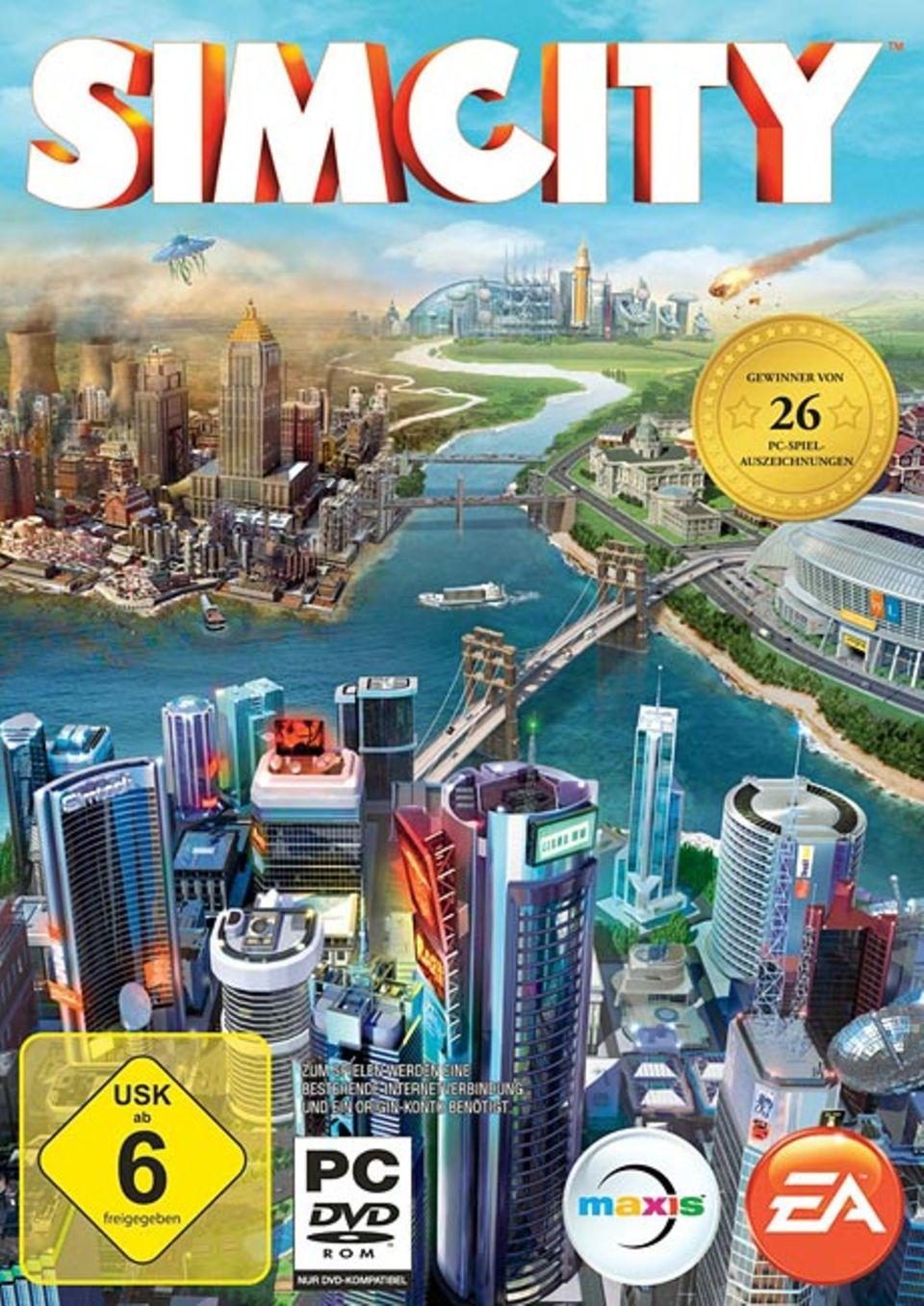 Spieletests: Baut eure eigene Stadt: mit SimCity