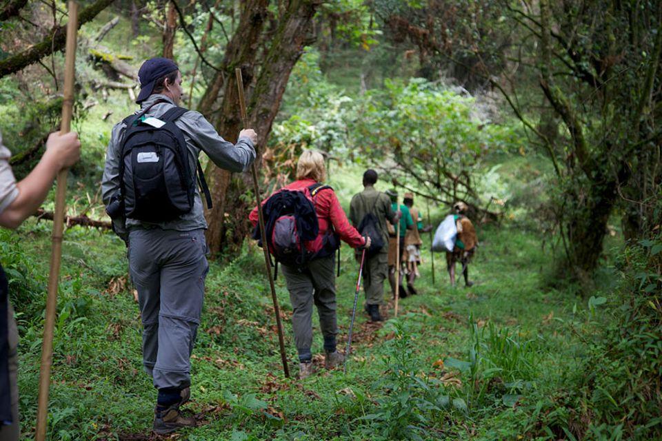 Uganda: Touristen können den Batwa-Trail an einem Tag erlaufen