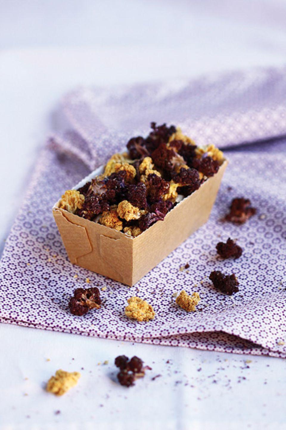 Vegetarische Küche: Blumenkohl-Chips