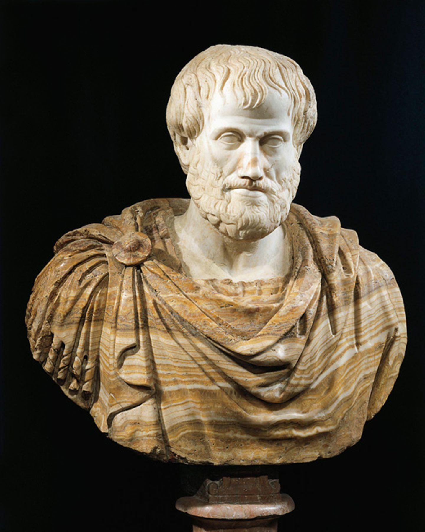 Weltveränderer: Aristoteles widmete sich der Philosophie, also der Wissenschaft, die die Welt und das menschliche Dasein überdenkt