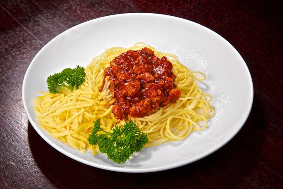 Rezept: Spaghetti Bolognese auf vegetarische Art