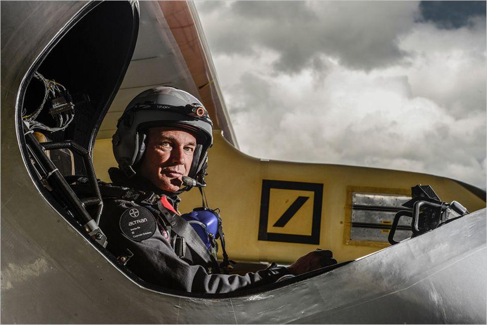 Solarenergie: Pionier im Solarflugzeug: Bertrand Piccard