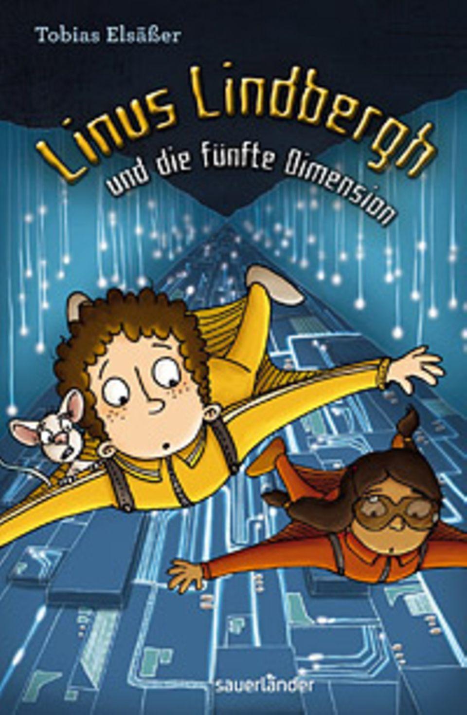 Buchtipp: Buchtipp: Linus Lindbergh und die fünfte Dimension