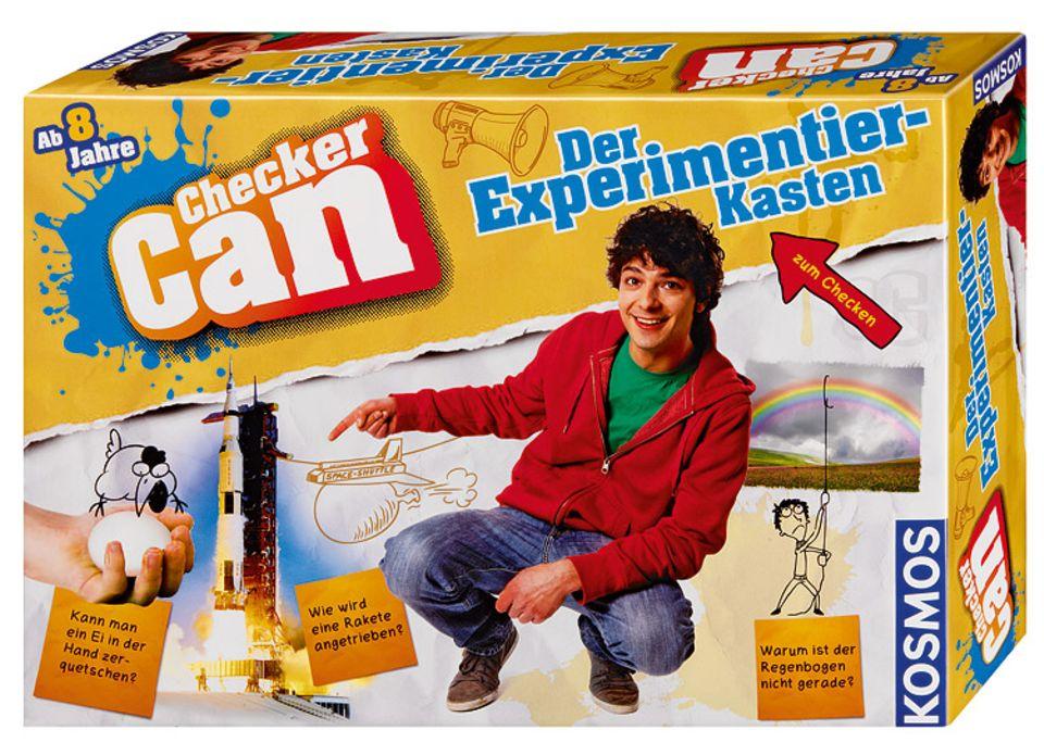 Der Experimentierkasten ist ein Spaß für alle ab 8