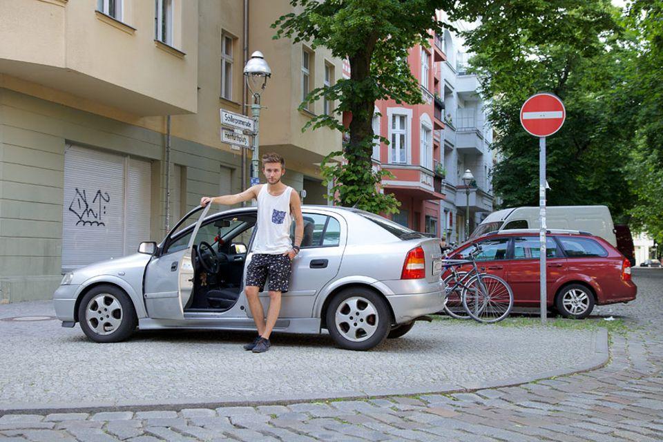 Serie: Privates Carsharing funktioniert, dank Menschen wie Jules Esick (22), die ihr Auto so leichter finanzieren können