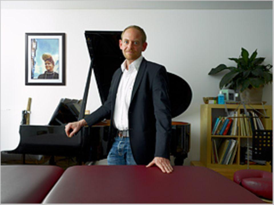 Gesundheit: Jochen Heuck (40) Musiker, Gesangslehrer und Heilpraktiker, Hamburg