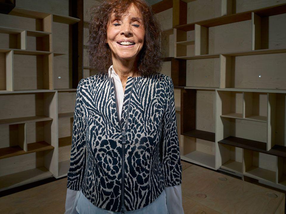 Gesundheit: Kristin Feireiss (70) Gründerin und leiterin der Architekturgalerie Aedes in Berlin