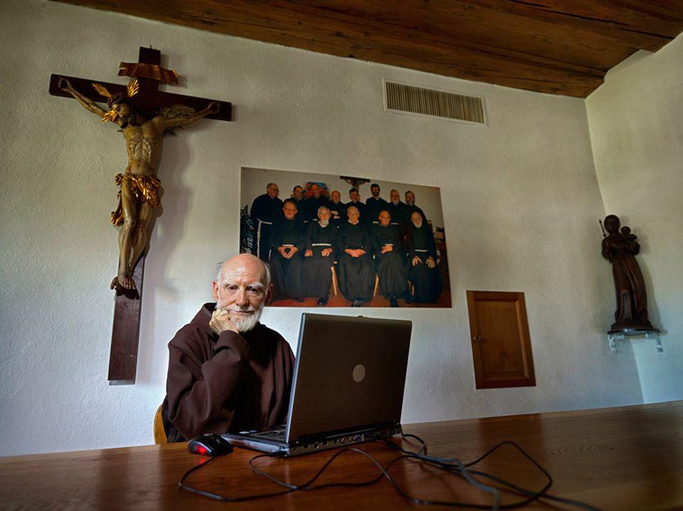 Gesundheit: Bruder Tilbert Moser (80) Kapuzinermönch in Olten in der Schweiz