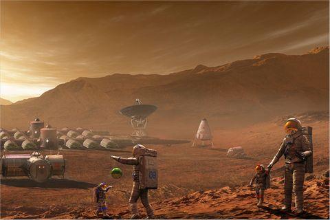 Raumfahrt: Auf zum Mars!