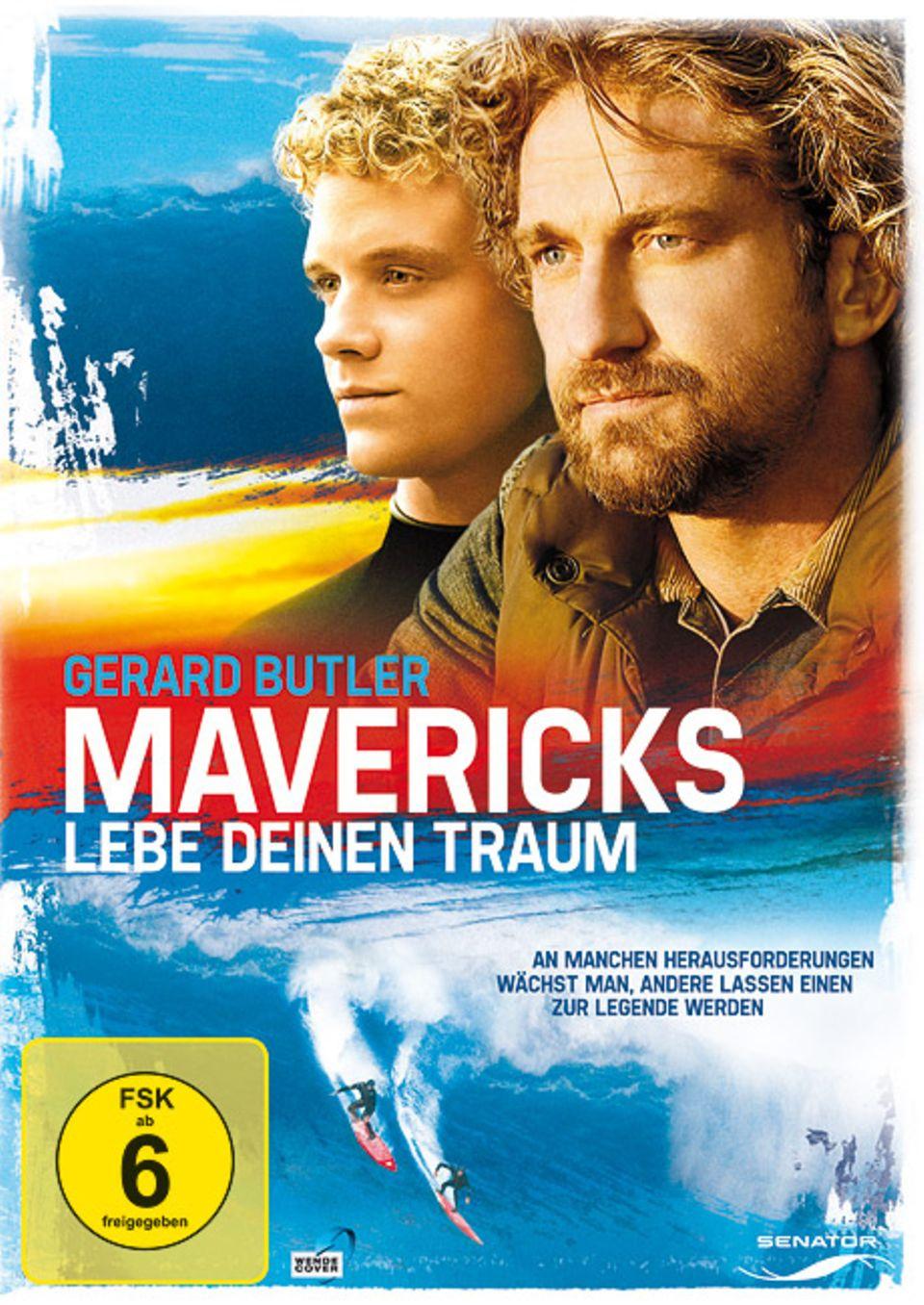 """""""Mavericks - Lebe deinen Traum"""" erschien 2012 als Spielfilm. Jetzt ist der Film auch in Deutschland im Handel erhältlich"""